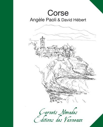 Carnets Nomades - CORSE - 1ère de Couv.